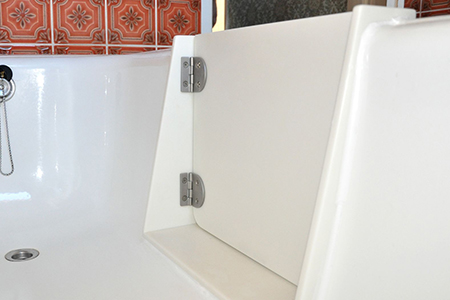 schneller einbau und 100 wasserdicht die badewannent r smart r kempter haustechnik. Black Bedroom Furniture Sets. Home Design Ideas